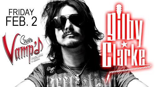 GILBY CLARKE OFFICIAL WEB SITE -What's New